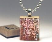Henna Mehndi Series Scrabble Tile Pendant (HM3) - Buy 2 Get 1 FREE