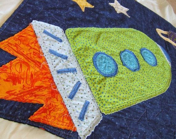 Custom Listing For Jennifer W Rocket Ship In Outer By