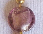 Purple ice keychain
