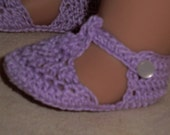 156 Mary Janes and Sandals  - Crochet Pattern for American Girl Dolls