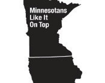 Minnesotans Like It On Top