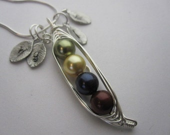 Peas in a Pod Necklaces