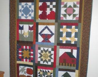 Wall Quilt, Year-at-a-Glance Quilt