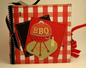 Back Yard BBQ paper bag scrapbook