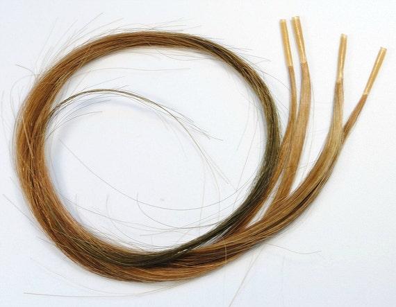 Cocoa Kiss // I tip Human Hair Extensions / Pre-bonded Keratin / Tie Dye Hair