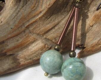 turquoise dangles