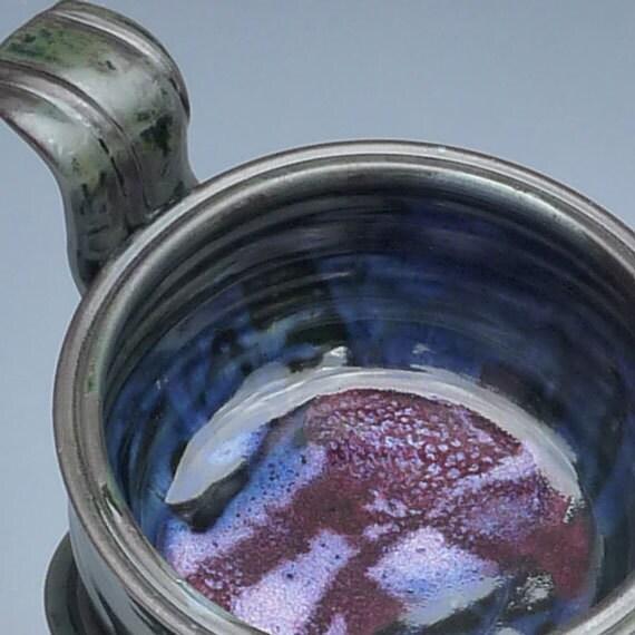 Pottery French Onion Soup Bowl Black Raspberry