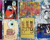 Soyalegato Postcards set of 8