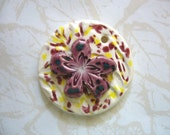 The Unusual - Raspberry Delight 3D Ceramic Pendant