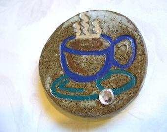 Hot Chocolate Ceramic Magnet