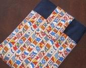 Nautical Flags iPad / iPad 2 / Kindle Cover, Case Sleeve Bag