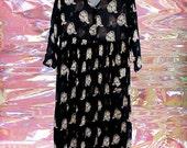 monkey business silk dress