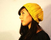 Reversible Tamlyn Slouch in Mustard Yellow