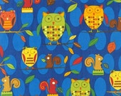 CLEARANCE SALE - Earth by Amy Schimler From Animal Party Too -1 Yard