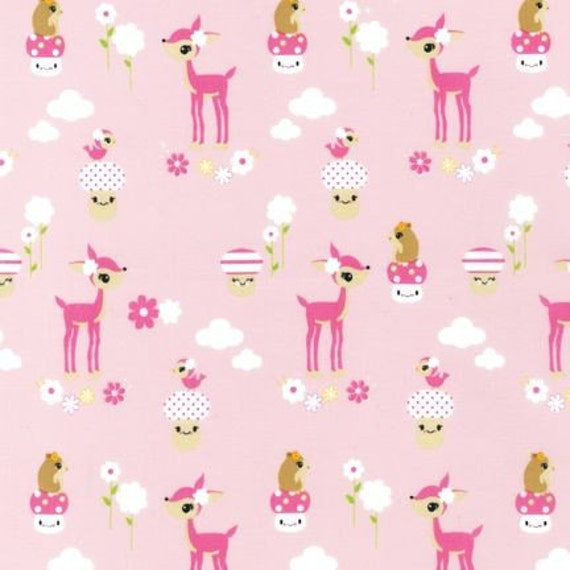Pink by Bored Inc. from Toyland - 1 Yard
