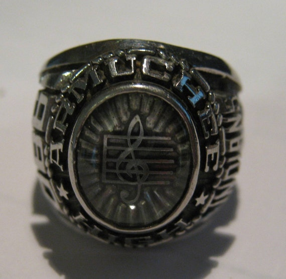 Vintage 1980 Armuchee High School Class Ring by ToogaVintageSilver