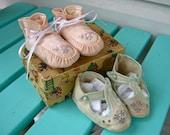 Darling Vintage Infant Shoes