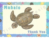 Thank You Card - Mahalo