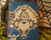 Disney Halloween ID Badge, Evil Witch of the Sea Ursula