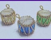 Little Lindy Drum Miniature Ornament