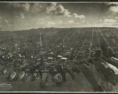San Francisco Aerial Photograph Panoramic 1906 Earthquake