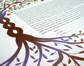 Ketubah - Apple Trees...