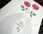 Ketubah - Roses in love...