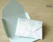 Self folding message card, say bye bye to envelope, set of 10, HC1258