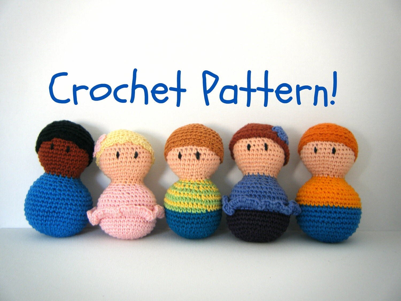 Amigurumi Baby Doll PDF Crochet Pattern INSTANT DOWNLOAD