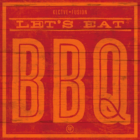 Let's Eat BBQ sticker pack
