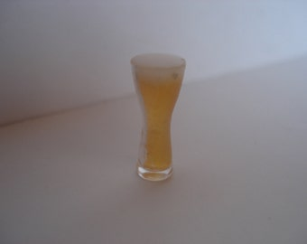 Miniature one pint beer glass