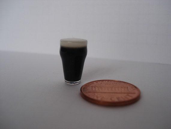 Miniature Guinness beer glass