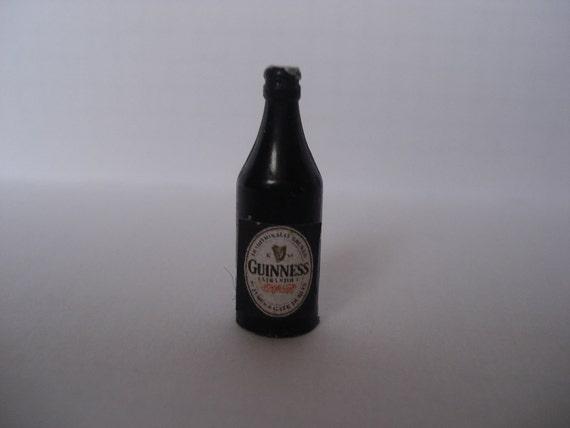 Miniature Guinness beer bottle