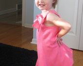 Coral pink party dress toddler girl SIze 2