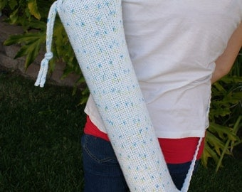 Yoga Mat Bag Tote Knit Cotton