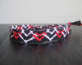 Interlocking Hearts Friendship Bracelet