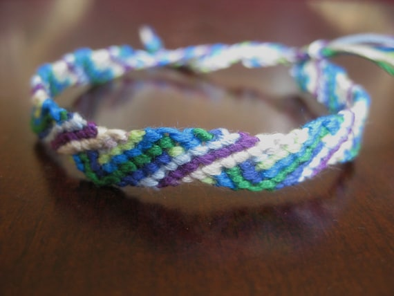 Wavy Colors Friendship Bracelet