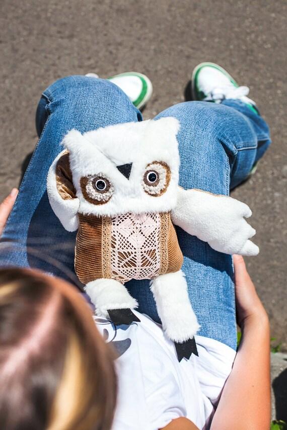 Preston Owl, soft toy by  Wassupbrothers