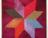 Lemoyne Star (Quilt Motif translated into felt)