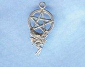Charming Fairy Pentacle Pentagram Witch Jewelry P155