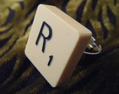 Scrabble Tile Ring - Recycled. Made to Order