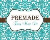Premade Etsy Shop Banner Set- The Chloe Design