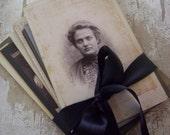 11 Antique Photos Cabinet Cards
