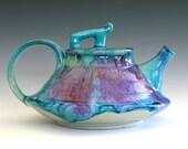 Mika, New Moon Teapot, Ceramic Teapot, ceramics and pottery