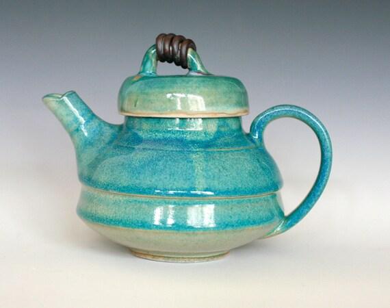 KaziMoto  Teapot, Handmade Ceramic Teapot
