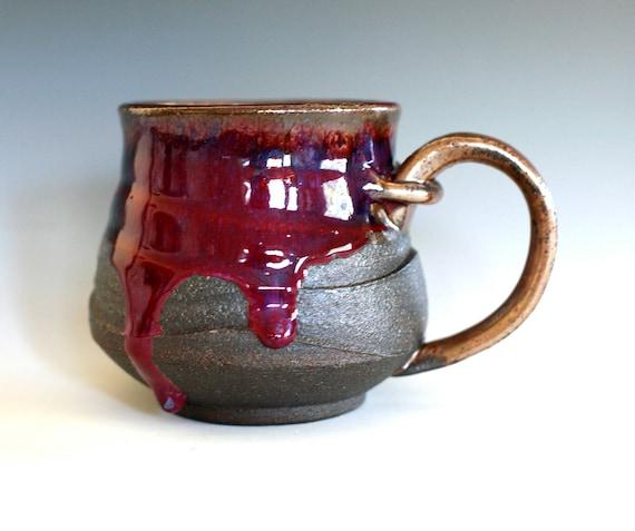 Coffee Mug, Holds 16oz, handmade ceramic cup, ceramic stoneware mug, coffee cup