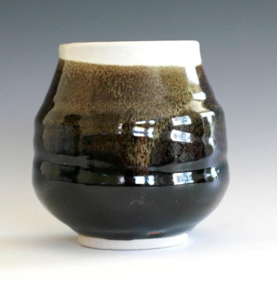 Porcelain Tea Cup, handmade ceramic tea cup, handmade pottery, Yunomi