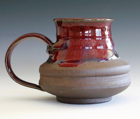 Large Coffee Mug, Holds 16oz, handmade ceramic cup, coffee cup