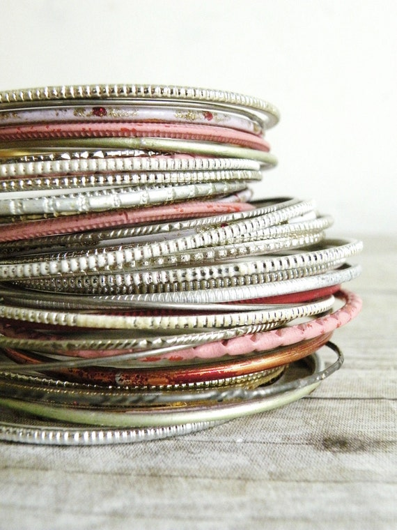 RESERVED FOR KIRSTY-vintage bangles, gypsy woman