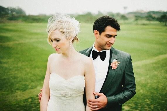 Wedding Accessories, Bridal Accessories, Rhinestone Bridal Ivory Fascinator, Bridal Fascinator, Wedding Veil, Bridal Veil, Birdcage Veil